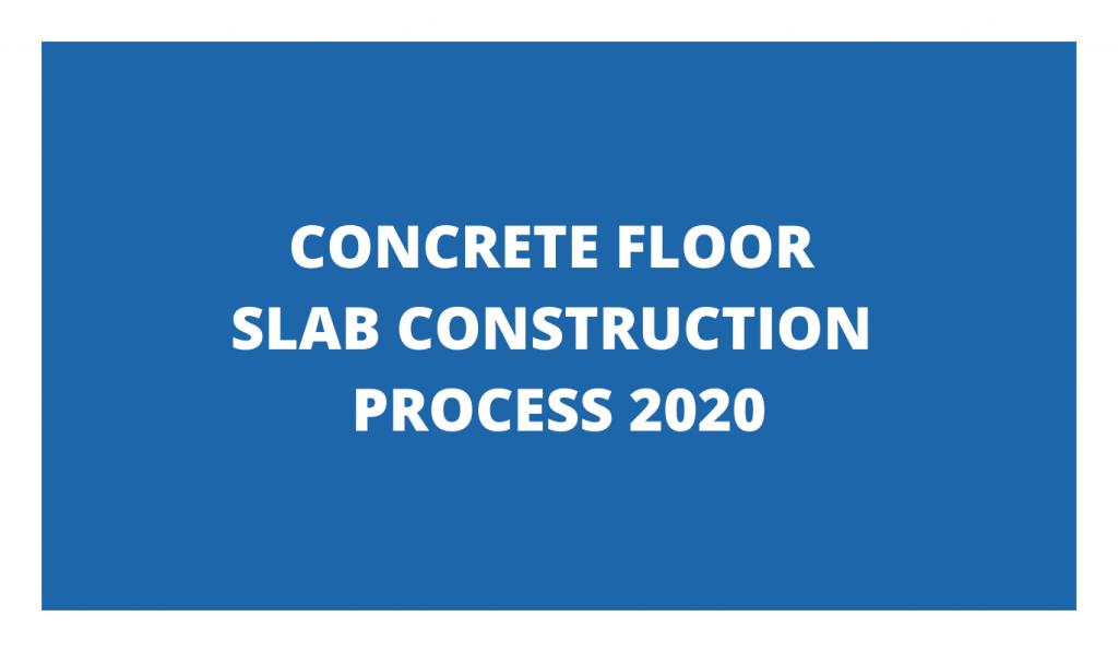 concrete slab construction